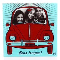 Porta Retrato Fusca Bons Tempos Foto Carro Álbum