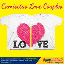 Camisa Evangélica Love Couples Casais Que Se Completam
