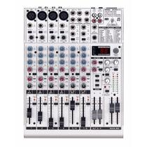 Mesa De Som Behringer Eurorack Ub1204fx-pro Mixer Dj