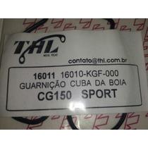 Guarnição Junta Cuba Carburador Honda Titan 150 Sport