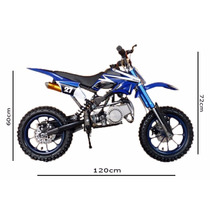 Super Mini Moto Cross Dsr 49cc - 50cc 0km À Pronta Entrega