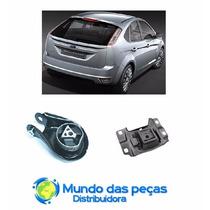 Kit 2 Coxins De Cambio - Ford Focus Duratec 2009 Em Diante