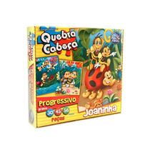 Quebra Cabeça Joaninha Infantil C/ 30, 45 E 56 Peças - Jogo