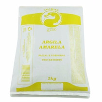 Argila Medicinal Amarela Facial Corporal 1kg Geo - Original