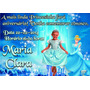 Convites Personalizados Para Aniversário Infantil 10cm X 7cm