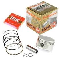 Kit Competição Pistao E Aneis Rik Cbx/xr/nx 200 2mm 65,5mm