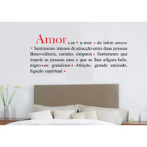 Adesivo Decorativo Romântico Amor (149x59)cm - Frete Gratis