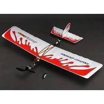 Avião Aeromodelo Slowstick Hobbyking Brushless 4 Canais Fpv