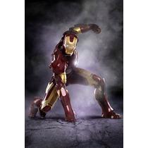 Homem De Ferro - Poster Em Lona 60x40cm - Frete Grátis