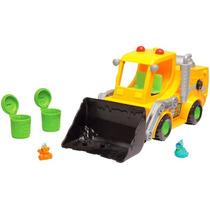 Escavadeira Lança-lixo Trash Pack - Dtc