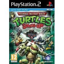 Tartarugas Ninja Smash Up Ps2 Patch - Frete Só 6,00
