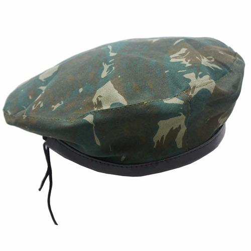 Boina Boné Estilo Cap Militar Camuflada Do Exército