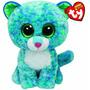 Beanie Boos Pelúcias -leopardo Azul E Verde - Leona - Ty Dtc