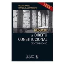Resumo Dir. Constitucional Descomplicado 3º Ed Frete Grátis!