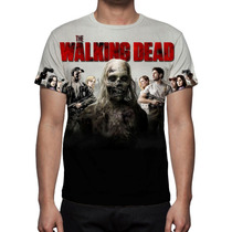 Camisa, Camiseta Série The Walking Dead Mod 02