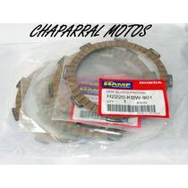 Kit Discos De Embreagem Hamp Cg125/cg150/cbx Xr200 Honda