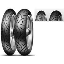 Pneu Pirelli Traseiro Sportdemon53p100/80-18 Dafra Apache1
