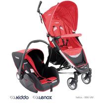 Carrinho Aluminio Bebê Conforto Travel System Guarda-chuva