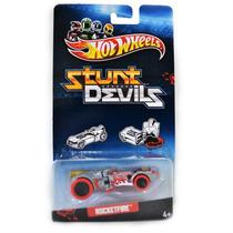 Carrinho Miniatura Hot Wheels Stunt Devils Rocketfire