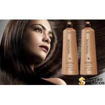 Kit Nanooil Shampoo+rec Profissional Kaedo Com Óleo De Argan