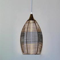 Lustre Pendente Em Alumínio Luminart