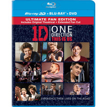 Blu-ray 3d + One Direction: This Is Us