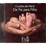 Cd Canções De Ninar De Pai Para Filho