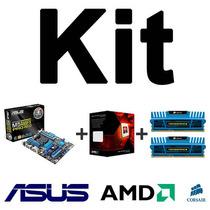 Kit Asus M5a99fx Pro R2.0 + Amd Fx-8350 + Mem. 8gb (2x4gb)