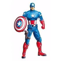 Boneco Do Capitão América Os Vingadores Avengers 16cm Hasbro