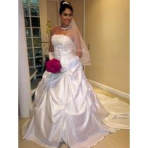 Vestido De Noiva Lindo Importado Pronta Entrega
