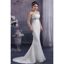 Vestido De Noiva Renda Luxo Importado Pronta Entrega Brasil