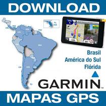 Atualização Gps Garmin 2017.20 Brasil + Amer. Sul + Radares