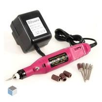 5x Lixa De Unha Elétrica 110v 220v Profissional Lixadeira