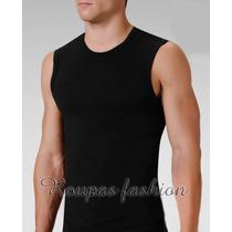 Camiseta Regata,musculação,cavada,gola V,blusas Machão,slim