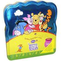 Livro Infantil - Lata Ler E Brincar Disney Pooh - 4babies