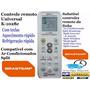 Controle Remoto Universal P/ Ar Condicionado Split Brastemp