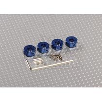 Adaptador De Roda Sextavado 12mm (furo 5mm) Liga Alumínio