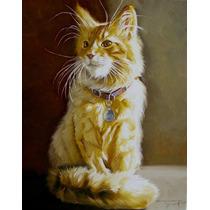 Retratos Desenho Grafite Pintura Animais Pet Gato Cachorro
