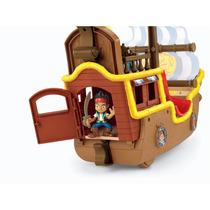 Jake E Os Piratas Na Terra Do Nunca - Barco Musical Bucky