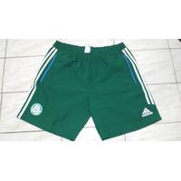 Bermuda Palmeiras Adidas Viagem Verde 2013 Tam G