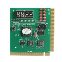 Placa De Diagnóstico Pc Analyser Post Pci + Isa 4 Dígitos