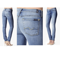 Calça Jeans Roxanne (skinny) Azul - 7 For All Mankind - T.28