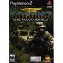 Ps2-jogo Socom 3 Original Lacrado Americano Em Inglês