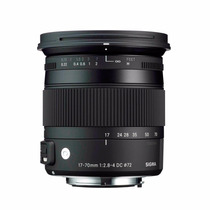 Lente Sigma 17-70mm F/2.8-4 Os Hsm Macro Dc Nikon Lj Fisica