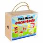 Brinquedo De Madeira Casinha Encantada Carlu Cb 1196