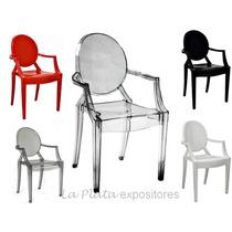 Cadeira Policarbonato Acrílico Transparente Ghost