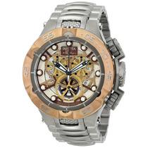 Relógio Invicta 13736 Subaqua Noma Skeleton Caixa E Manual.