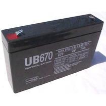 Bateria 6v 7ah P/ Moto Elétrica Bandeirantes Biemme Homeplay