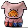 Romero Britto Mini Porco De Resina Trevisan