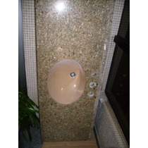 Pia Bancada De Granito Para Banheiro Com Cuba